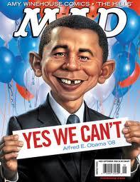 Mad Magazine paradoy of Obama