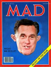 Mad Magazine parody of Mitt Romney